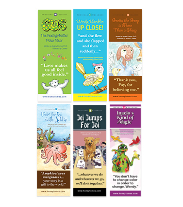 Wellness Series Bookmark Set